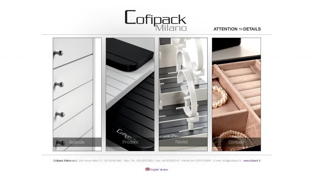 Sito web Cofipack Milano