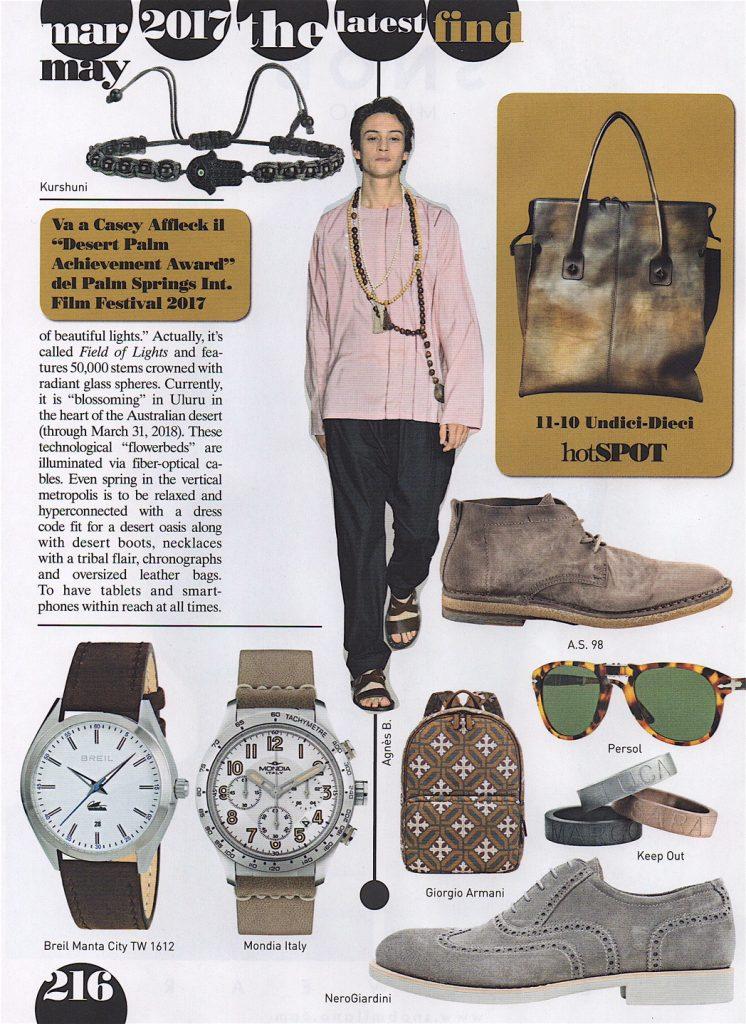 orologio mondia italy su vogue accessory