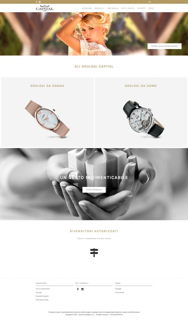 sito web per capital time orologi