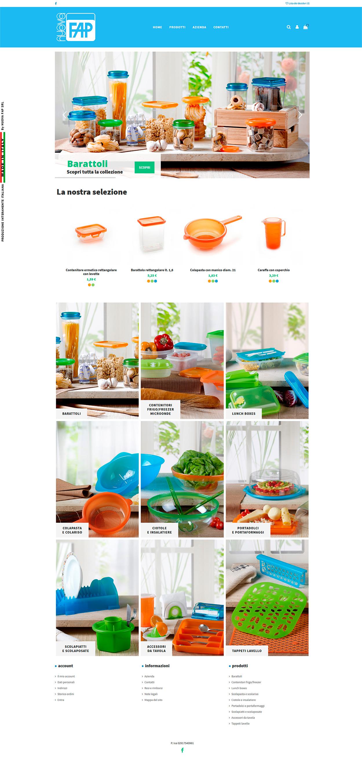 nuovafap online shop